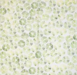 Servetėlė Pūkai - taškeliai žali
