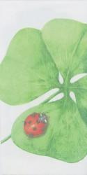 Handkerchief Napkin Ladybird