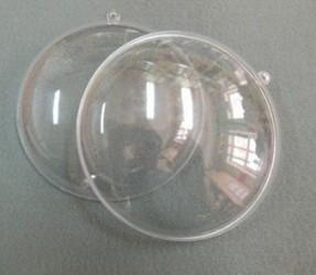 Medalionas skaidrus 7 cm skersmens (2 dalys)