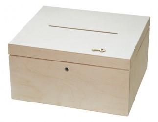 Dėžė vokams su raktu