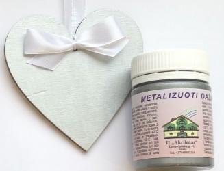 Metallic paint Silver (50 ml)