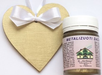 Metallic paint Gold (50 ml)