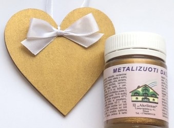 Metalizuoti dažai Karališkas auksas (50 ml)