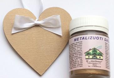 Metallic paint Antique gold (50 ml)