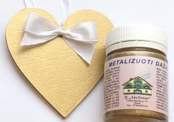 Metallic paint Old gold (50 ml)