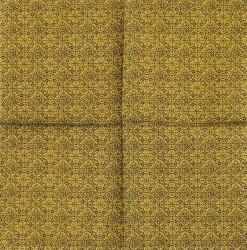 Servetėlė Ornamentai geltoni