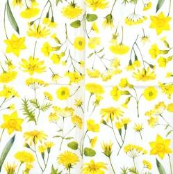 Servetėlė Gėlės geltonos