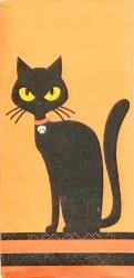 Handkerchief Black cat