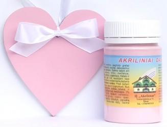 Matt Acrylic Paint Pink (60 ml)