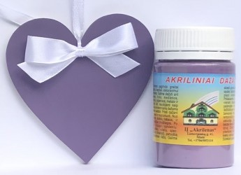 Matt Acrylic Paint Dark Levander (60 ml)