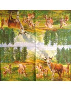 napkins-animals